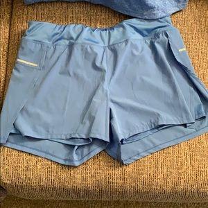 Avia workout gear blue